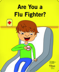 Visit FluFacts.com/coloringbook to find out: Are You a Flu Fighter?.  (PRNewsFoto/National Foundation for Infectious Diseases)
