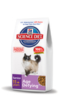 New Hill's(R) Science Diet(R) Senior 11+ Age Defying(TM) Cat Food Receives Top Rating from GoodGuide.com.  (PRNewsFoto/Hill's Pet Nutrition Inc.)