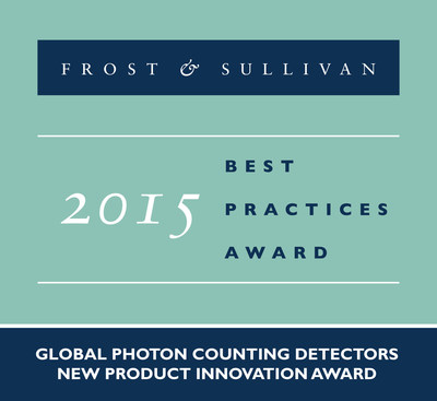 DRS Technologies Receives Global Photon Counting Detectors New Product Innovation Award (PRNewsFoto/Frost & Sullivan)