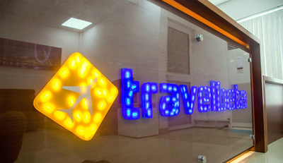 Travelbeta office signage. (PRNewsFoto/Travelbeta & Tours Limited)