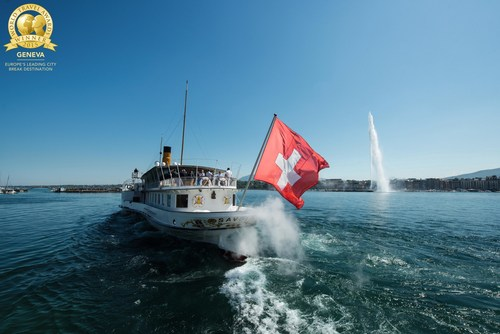 """For the second year in succession, Geneva has been named """"Europe's Leading City Break Destination"""" at the World Travel Awards 2015. (PRNewsFoto/Geneva Tourism & Conventions) (PRNewsFoto/Geneva Tourism & Conventions)"""