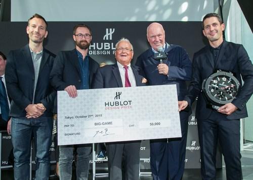 And the winner is Big Game (PRNewsFoto/HUBLOT) (PRNewsFoto/HUBLOT)