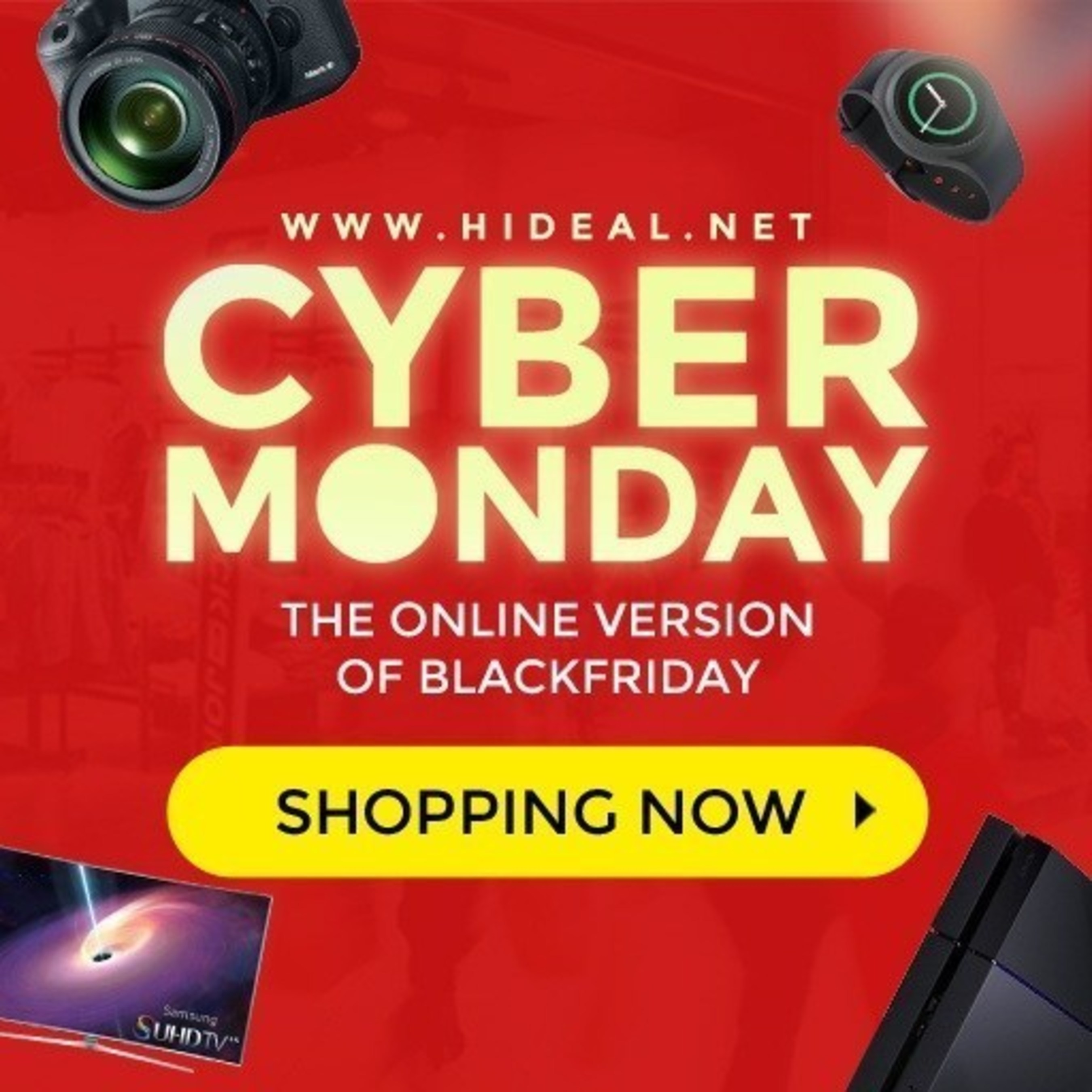 Hideal.net Presents the Best 2015 Cyber Monday Deals