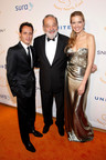 Marc Anthony, Carlos Slim, Petra Nemcova - photo credit: Patrick McMullan Co., Adriel Reboh.  (PRNewsFoto/Happy Hearts Fund)