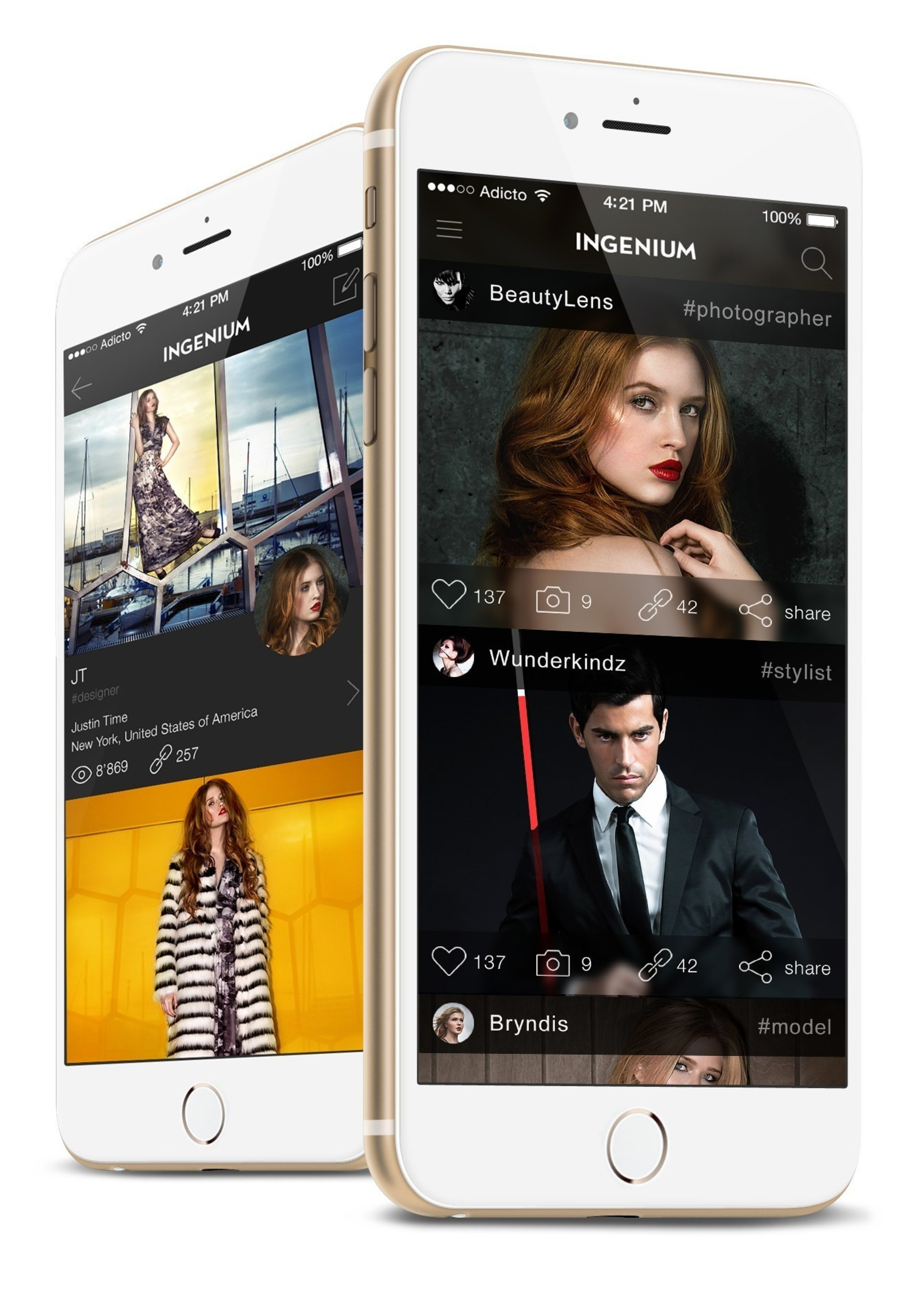 Ingenium Launches the First Fashion Industry Social Network for iOS