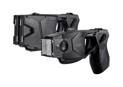 TASER X2 and TASER X26P Smart Weapons (L to R) have save more than 160,000 lives from death or serious injury.