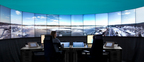 LFV's Remote Tower Center in Sundsvall, Sweden, deployed by Saab, will enable LFV controllers to remotely operate Ornskoldsvik Airport. (PRNewsFoto/Saab)