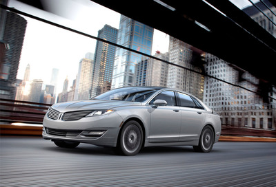 The all-new Lincoln MKZ Hybrid delivers more miles per gallon than every other luxury vehicle in America: EPA-certified 45 mpg city, 45 mpg highway and 45 mpg combined.  (PRNewsFoto/Ford Motor Company)