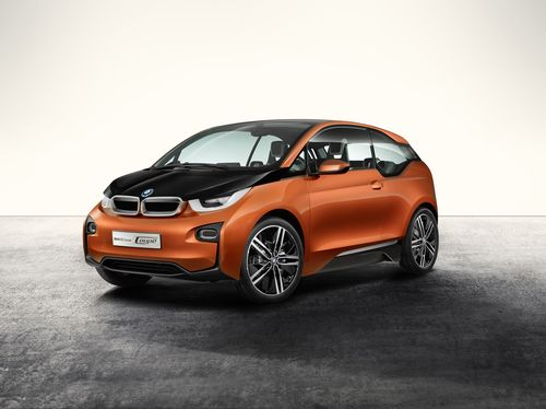 The new BMW i3 (market start end of 2013) sets new standards in the field of lightweight construction ...