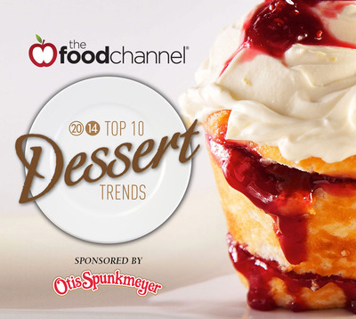 The Food Channel (www.foodchannel.com) 2014 Top 10 Dessert Trends. (PRNewsFoto/The Food Channel)