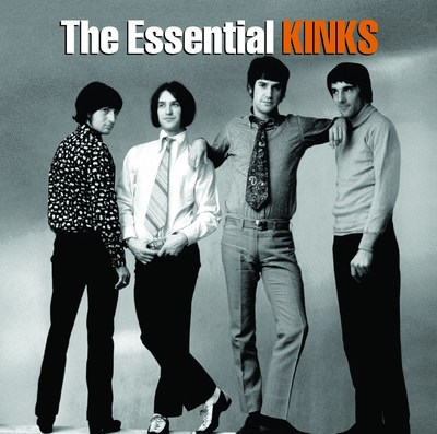 """""""The Essential Kinks"""" to be released on October 14th. (PRNewsFoto/Legacy Recordings)"""