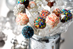 CanolaInfo's Brownie Party Pops are right-sized treats for a holiday party!  (PRNewsFoto/CanolaInfo)