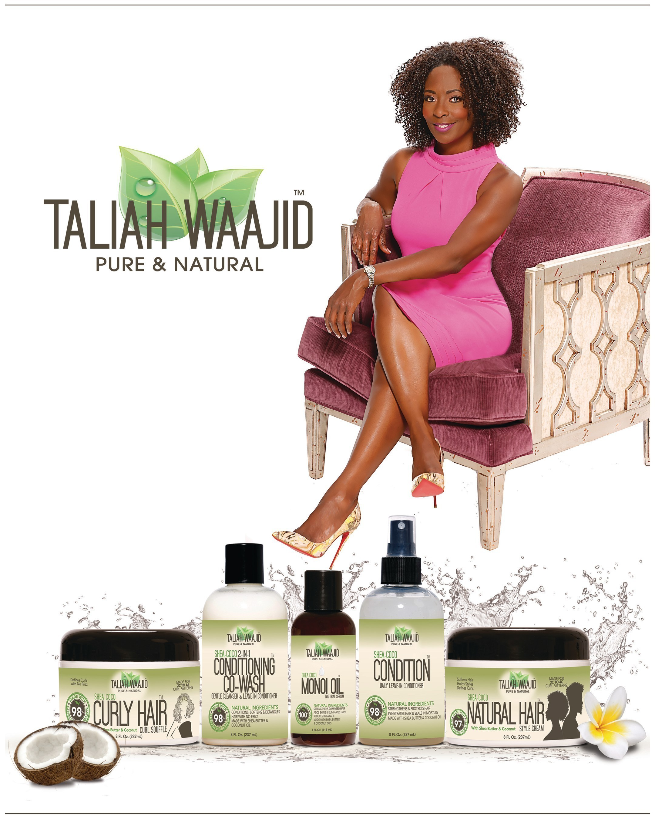 Taliah Waajid, Trailblazer Of Natural Hair Care Products For