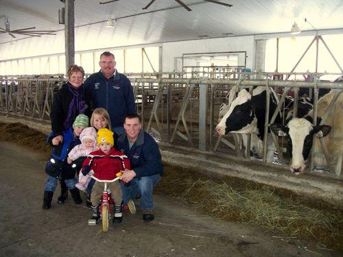 Afimilk-Benutzer zu besten Milchbetrieben in kanadischer Provinz Ontario erklärt
