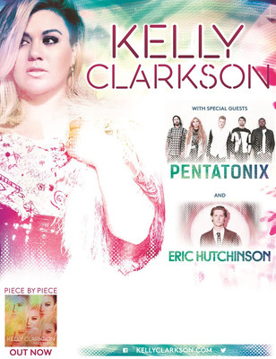 GRAMMY Award Winner Kelly Clarkson Announces 2015 PIECE BY PIECE TOUR