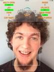 AffdexMe demo app with emotion and facial expression metrics