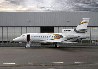 Dassault introduces a new airborne response service that provides also alternative transportation for passengers.