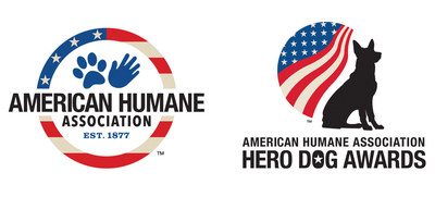 The new logos for American Humane Association and the American Humane Association Hero Dog Awards (PRNewsFoto/American Humane Association)