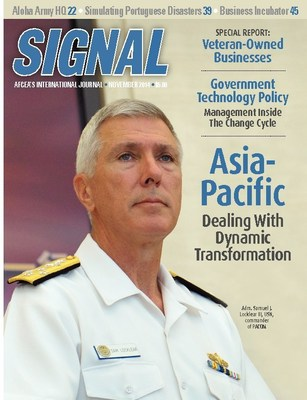 Adm. Samuel J. Locklear III, USN, commander, U.S. Pacific Command, discusses the internal and external challenges the command faces today.