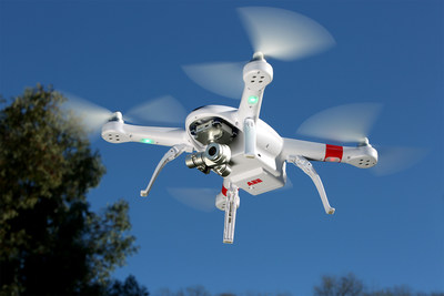 The all new AP12 drone from AEE Technology features a built-in HD camera on a three-axis gimbal