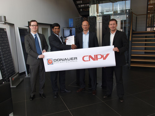 CNPV Becomes the Major Chinese Supplier for Donauer Solartechnik