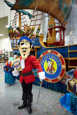 "Pirate's Booty(R) Embarks on a ""Treasure Hunt"" Adventure in the 89th Annual Macy's Thanksgiving Day Parade(R)"