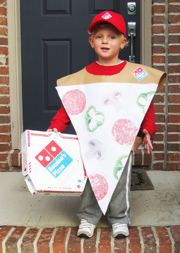 Trick-or-Treat: You Are What You Eat at Domino's Pizza®