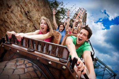 Six Flags Fiesta Texas Debuts Record-Breaking Iron Rattler Coaster