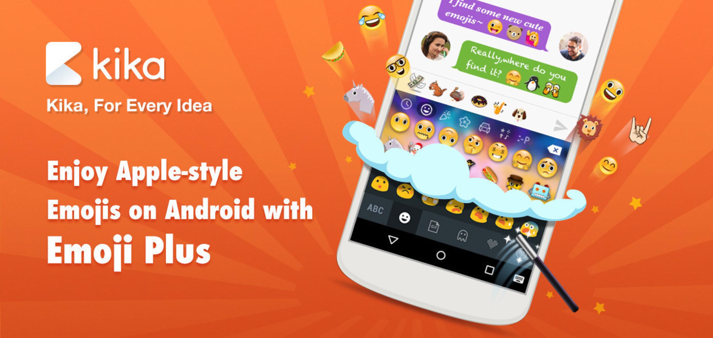 Enjoy latest emojis with Emoji Plus