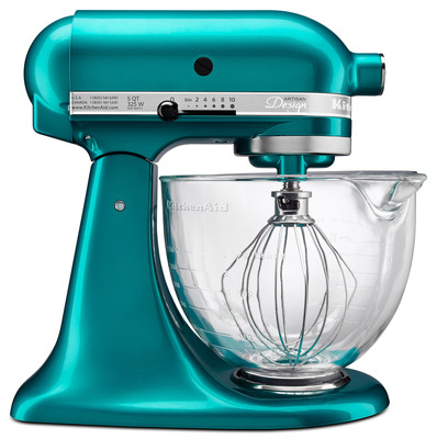 KitchenAid Artisan Design Series Stand Mixer Sea Glass.