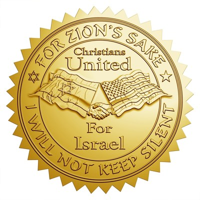 Christians United for Israel is the largest pro-Israel organization in the United States. (PRNewsFoto/Christians United for Israel)