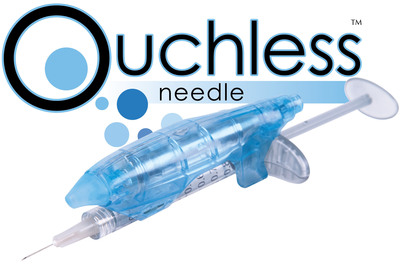 Ouchless Needle devices provide a less painful way to administer cosmetic injectables.  (PRNewsFoto/BellaNovus Development Company LLC)