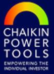 Chaikin Power Tools logo.  (PRNewsFoto/Chaikin Analytics LLC)