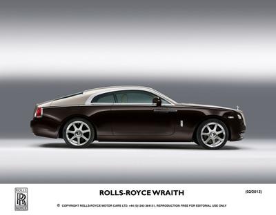 Rolls-Royce Wraith.  (PRNewsFoto/Rolls-Royce Motor Cars)