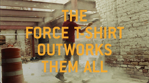 Carhartt's Force T-Shirt Outworks Them All. (PRNewsFoto/Carhartt) (PRNewsFoto/CARHARTT)