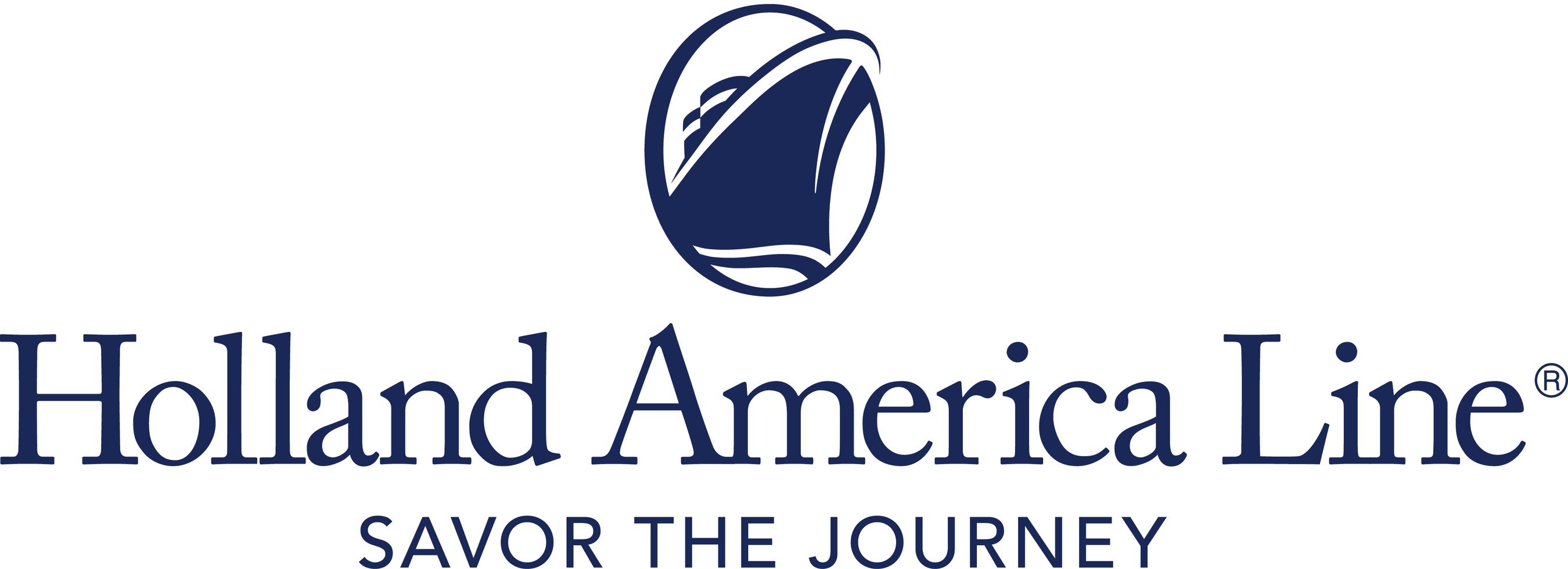 Holland America Line logo.