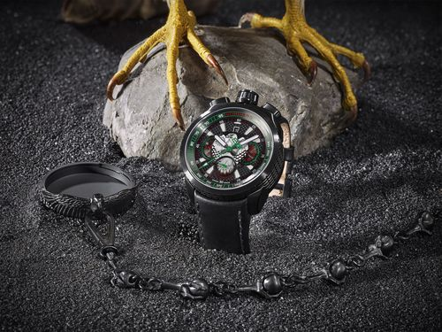 BOLT-68 FALCON - Swiss made automatic chronograph limited to 250 pieces (PRNewsFoto/BOMBERG SA)