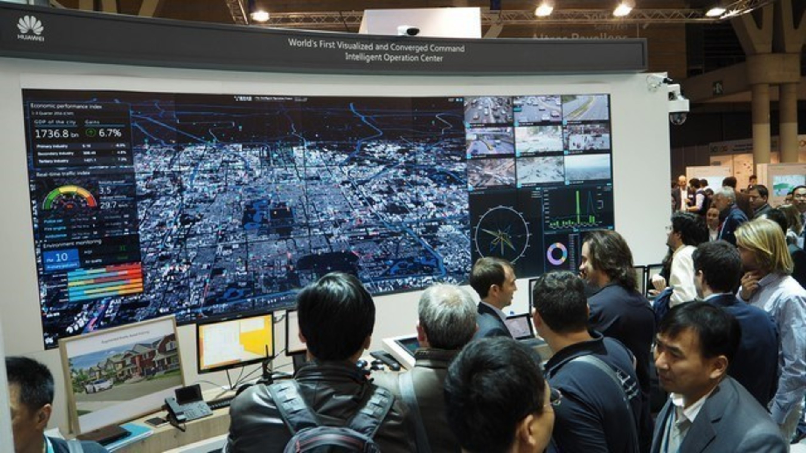 Huawei Showcases New ICT Solutions at Smart City Expo World Congress 2016