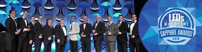 2016 Sapphire Award Winners - Daintree Networks President, Danny Yu, far left.