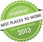 2013 Best Places to Work for Recent Grads.  (PRNewsFoto/ConnectEDU)