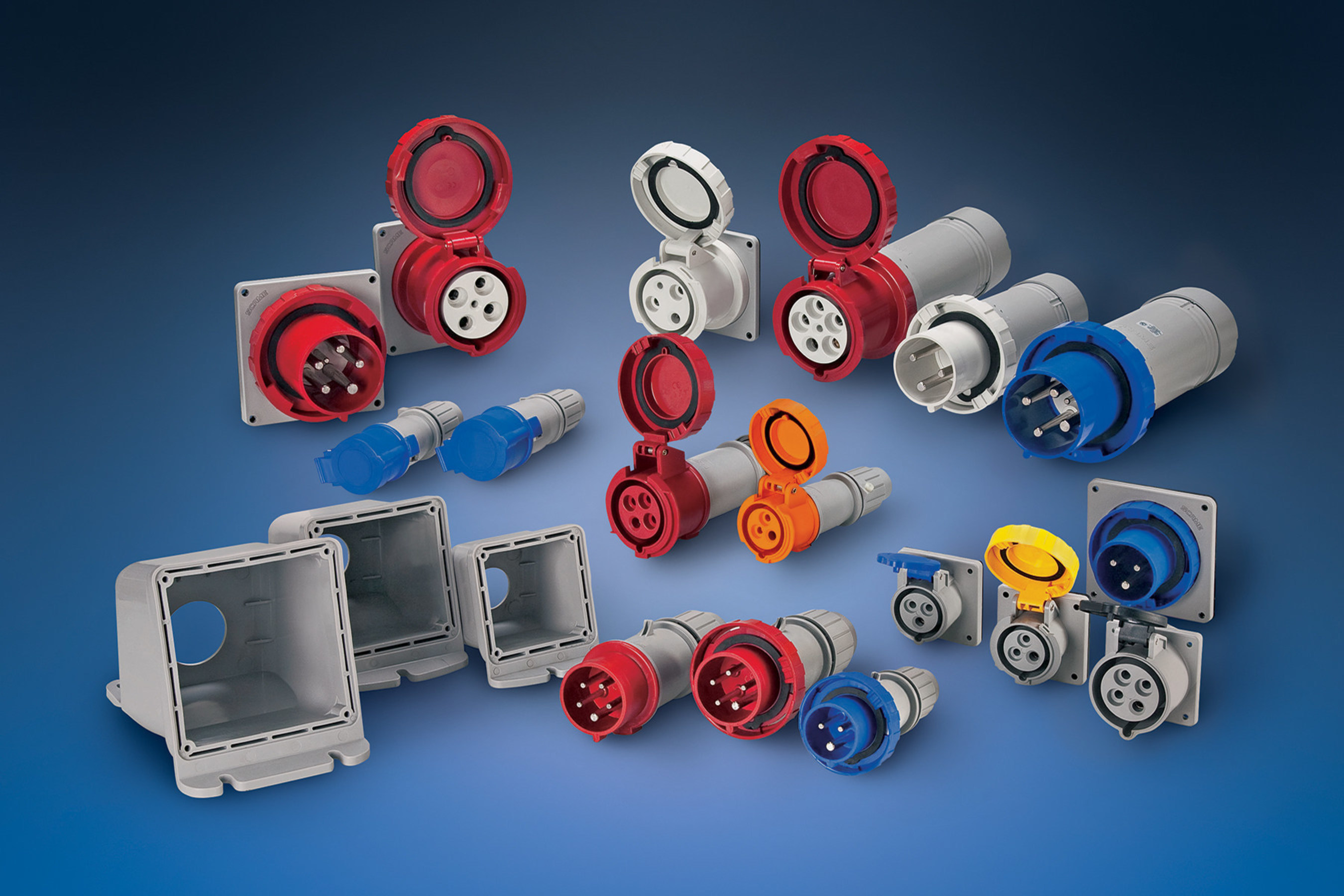 Reliable, Safe Operation in New Amphenol Industrial Power Connectors