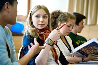 Students from over 100 nationalities travel to participate in ORA's wide variety of academic courses. (PRNewsFoto/Oxford Royale Academy)