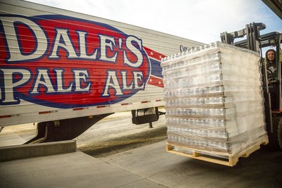 Oskar Blues Brewery canned and distributed 154,000 cans of water to flood-ravished areas in South Carolina, Michigan and Texas in 2015