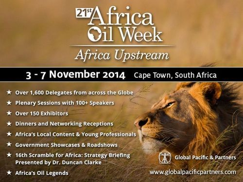 Breaking trends and critical upstream issues addressed at 21st Africa Oil Week (PRNewsFoto/Global Pacific _ Partners)