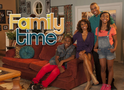 "Bounce TV's popular ""Family Time"" series returns for season two and will be seen Tuesday nights at 10:00 p.m. (ET) beginning Oct. 14. (PRNewsFoto/Bounce TV)"