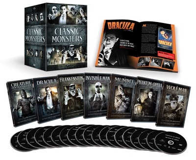 From Universal Studios Home Entertainment: UNIVERSAL CLASSIC MONSTERS: COMPLETE 30-FILM COLLECTION