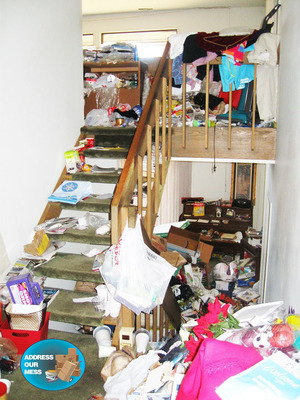Address Our Mess explores the true Impacts of Hoarding with latest episode in video series.  (PRNewsFoto/Address Our Mess)