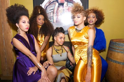 Au Naturale by Dark and Lovely Models at Texture on the Runway Show. Photo by Pete Monsanto of Fly Life Images.