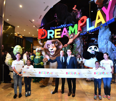 "Melco Crown Entertainment Co-Chairman & CEO, Mr. Lawrence Ho said: ""Our collaboration with DreamWorks Animation is another demonstration of our expertise in partnering with world-class entertainment brands to develop destination entertainment for Asia and international leisure seekers."" DreamWorks Animation Chief Executive Officer Mr. Jeffrey Katzenberg remarked: ""People are going to have a great experience at DreamPlay and we're proud to play a small part in Lawrence Ho's very big dream."""