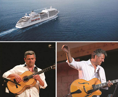 Marc Antoine (left) photographed by KG Creative Enterprises / Paul Brown photographed by Pat Benter.(PRNewsFoto/Silversea Cruises)